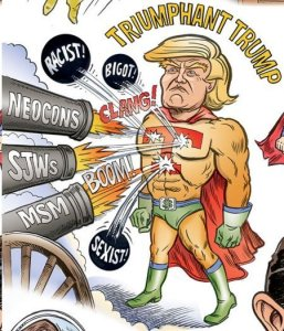 Trump triumphant