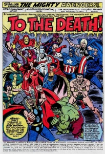 Avengers 118 to the death