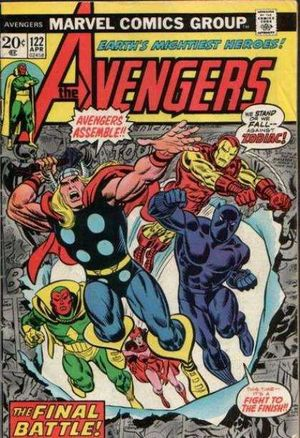 Avengers 122 Trapped in Outer Space