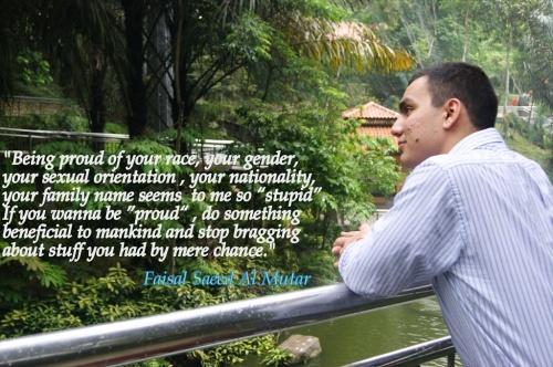 Faisal on identity politics