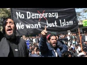 Islam no democracy just Islam