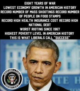 Obama eight years
