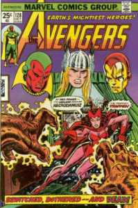 Avengers 128 bewitched, bothered