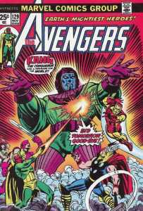 Avengers 129 bid tomorrow goodbye