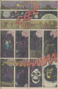 Death laughs at Thanos