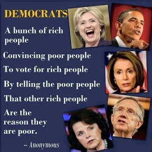 Democrats rich
