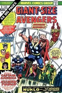Giant Size Avengers 1