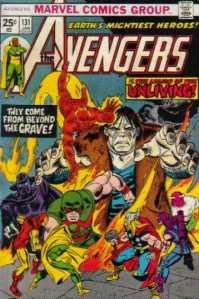 Avengers 131 quiet half-hour