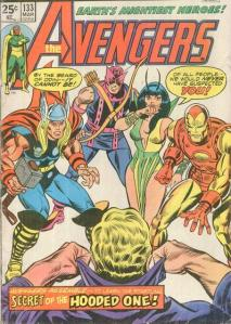 Avengers 133 Yesterday and Beyond
