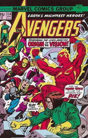 Avengers 134 times that bind