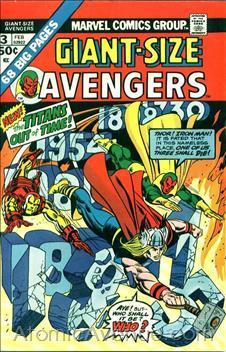 Giant Size Avengers 3