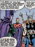 Immortus gives Thor a Synchro-Staff