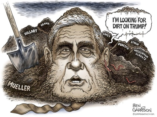 Mueller looking for dirt