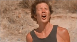 Neil Breen making a face