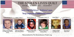 Stolen Lives Quilt