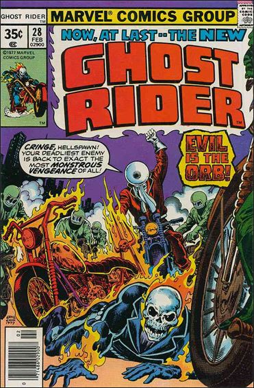 Ghost Rider and the Orb