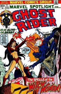 Ghost Rider and Witch Woman