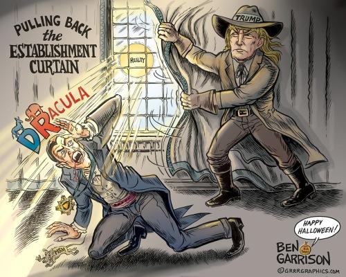 Trump Van Helsing