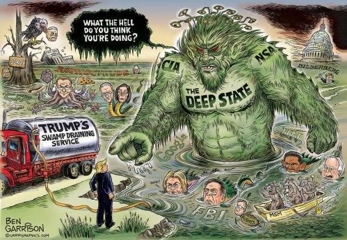 Trump vs swamp