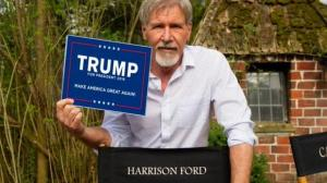 Harrison Ford likes Trump