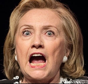 Image result for Hillary screaming