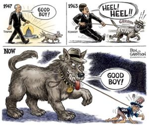 CIA Garrison Cartoon