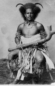Fijian warrior