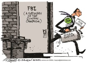 FBI a subsidiary of the clinton campaign