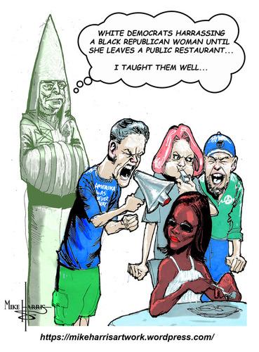 Candace Owens cartoon