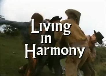 Living in Harmony