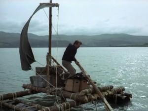 Prisoner and raft