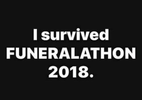 Funeralathon 2018