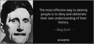 Orwell on history