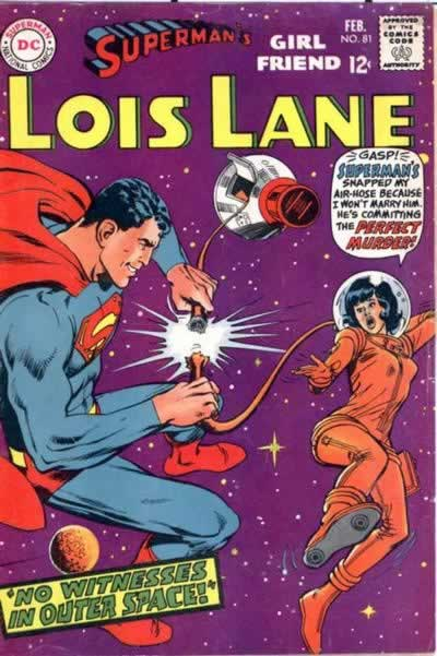 Superman Lois in space