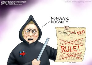 Hillary No Power No Civility