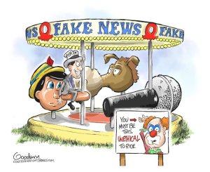 fake news merry go round