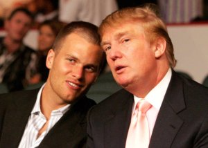 Trump and Tom Brady