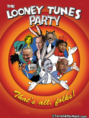 Democrats as looney tunes