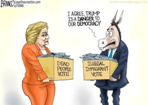 democrats fraudulent and illegal voting