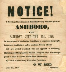 Ashboro Notice
