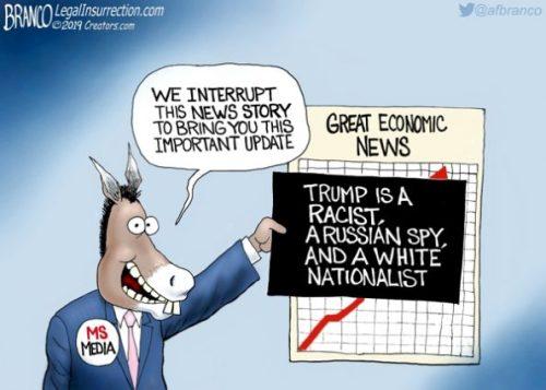 Democrat media lies