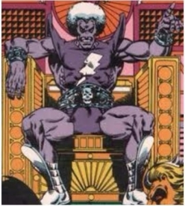 magus on throne