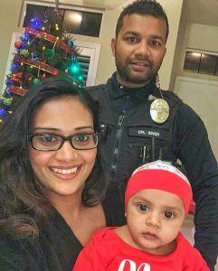 Ronil Singh family