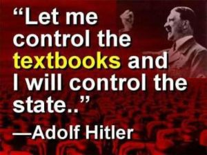 Hitler like Democrats on education