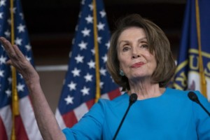 Pelosi drunk twisted face