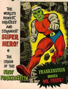 Frankenstein superhero BEST