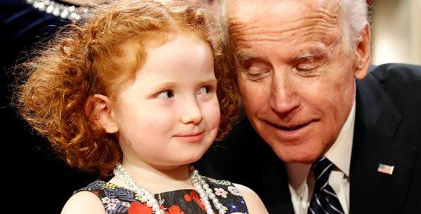 Joe Biden is creepy