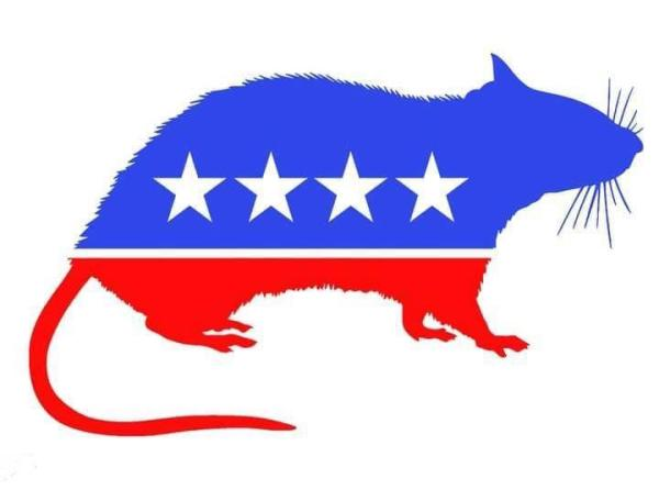 Democrat rat logo