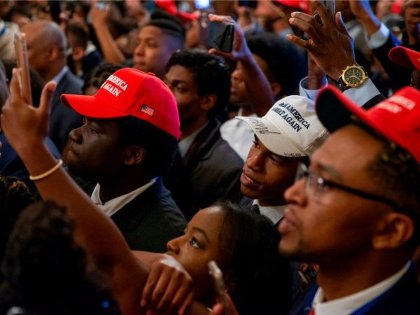 Trump black supporters even more