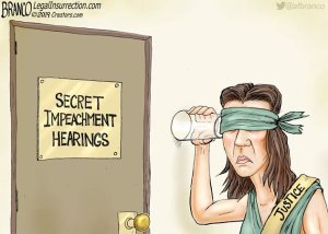 justice trying to hear
